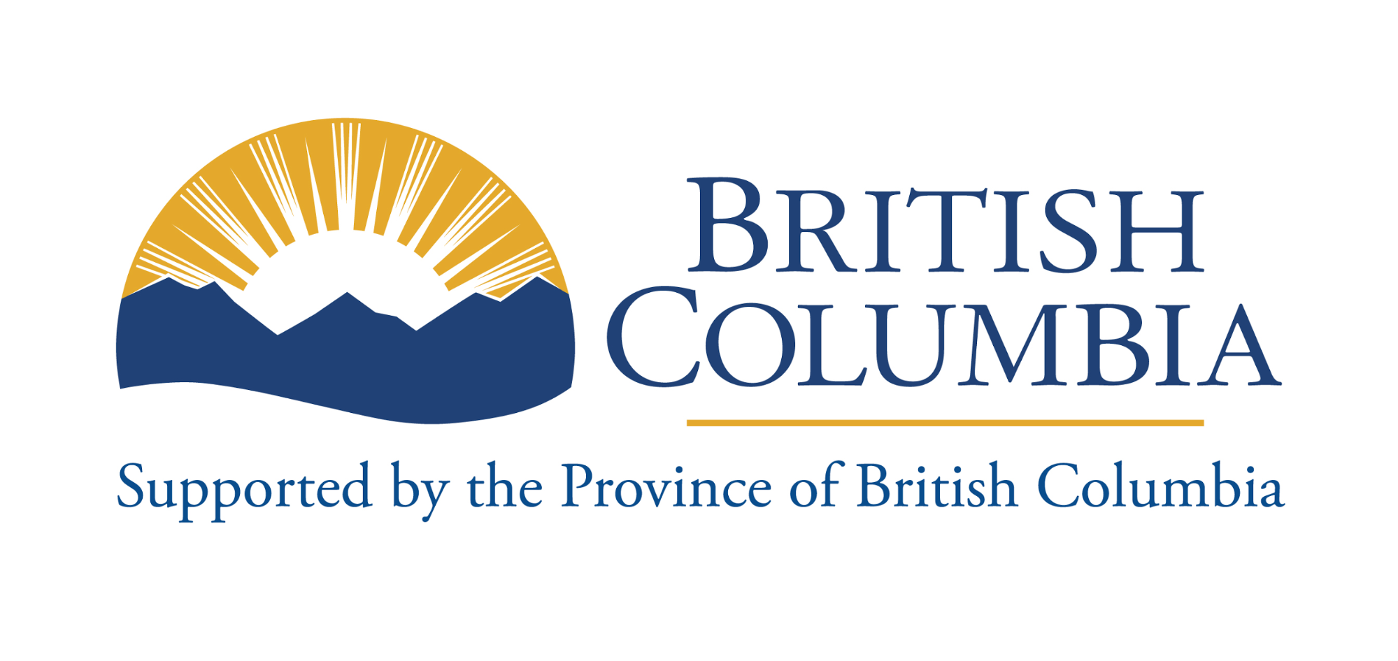 Supported by the Province of British Columbia logo
