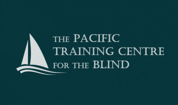 The Pacific Training Centre for the Blind logo