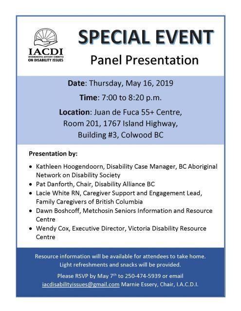 Poster for IACDI's Panel Presentation