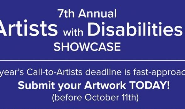 Oct 11 deadline to submit art pieces for our annual art show